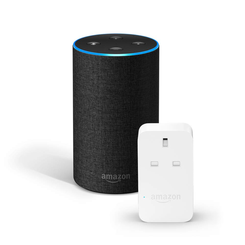 Amazon Echo + Amazon Smart Plug Bundle