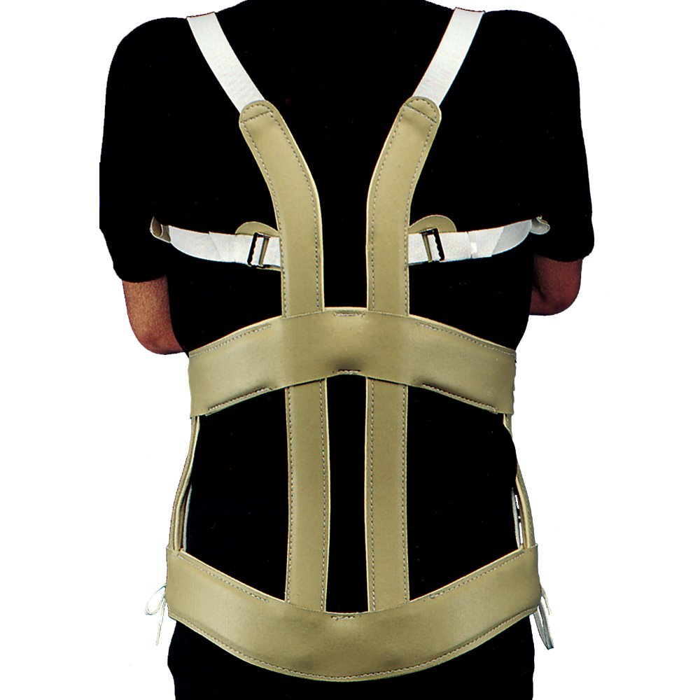 Thoracic Lumbar Sacral Orthosis Brace, Spinal Disk Back Support, Molded Knight-Taylor Style