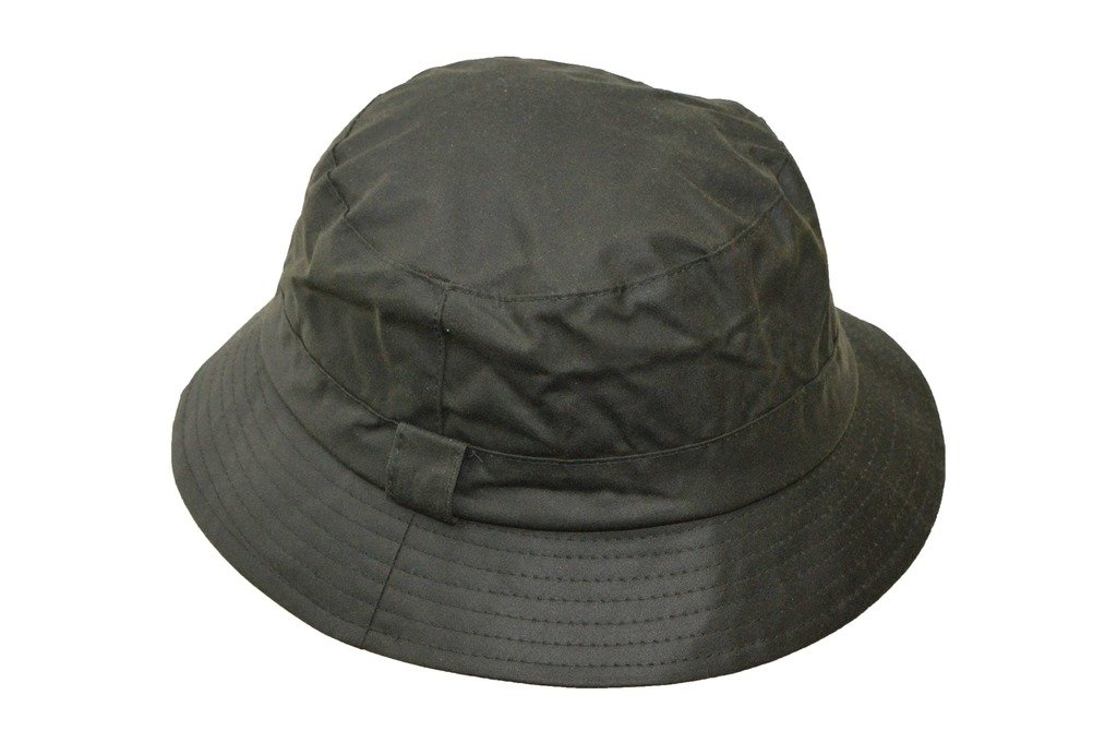 Walker and Hawkes Men's Wax Bush Bucket Fishing Country Hat XX-Large Olive