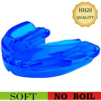 Teeth Walls Sport Mouth Guard - Youth Mouthguard for Braces - Sparring Mouth Guard - Large Size, Premium Quality No Boiling Required,Football, Basketball