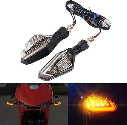2005 2008/de YZF R6/2003 Clignotants moto clignotant Blink Lampe indicateur pour Yamaha YZF R1/2002