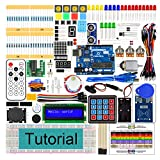 Freenove RFID Starter Kit V2.0 with UNO R3 (Arduino-Compatible), 252 Pages Detailed Tutorial, 198 Items, 49 Projects, Solderless Breadboard