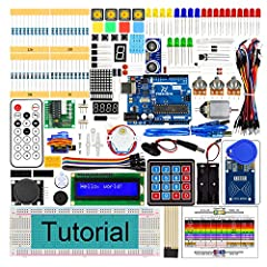 Tutorials and Code: This kit contains basic (Tutorial.pdf) and advanced (Processing.pdf) projects tutorials. You can download the tutorials and code before purchasing: https://git.io/fj8JyContents of Tutorial.pdf: Preface Chapter 1 LED Blink ...