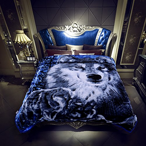 Heavy Korean Mink Fleece Blanket – 2 Ply Reversible 520GSM