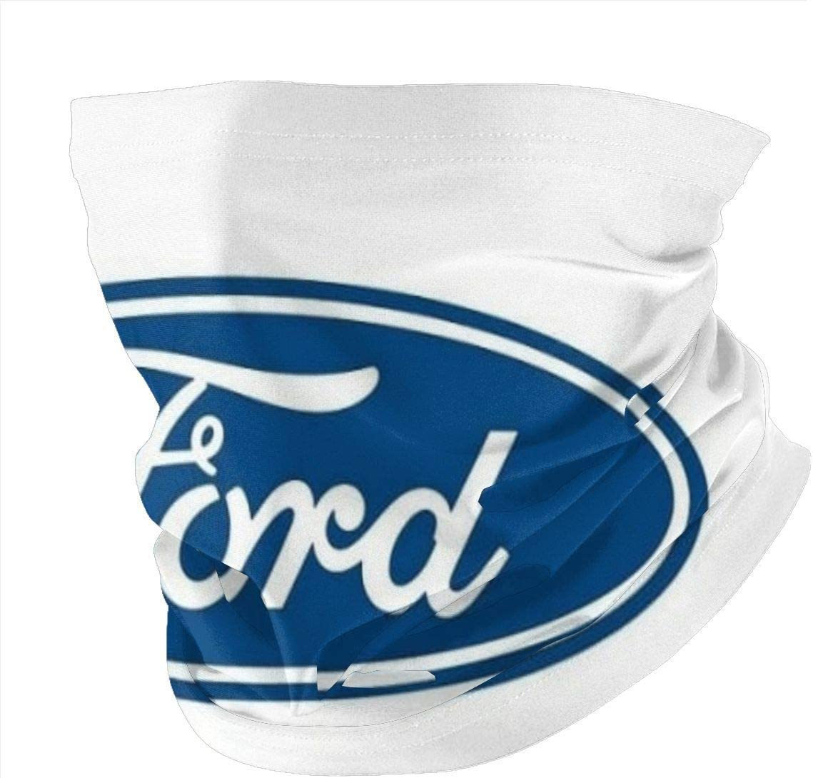 Feeling-Right Seamless face Cover for Dust Ford Scarf Face Shields Balaclavas Face Gaiter Covers Men Womens~A208