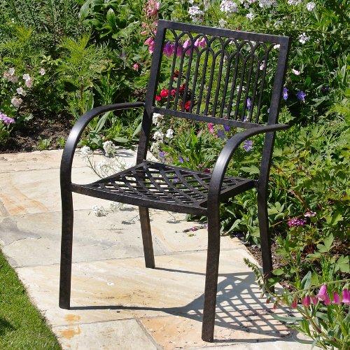 Victoria 250 x 180cm ovales Aluminium Gartenmöbelset - 1 Victoria Tisch + 10 Mary Stühle