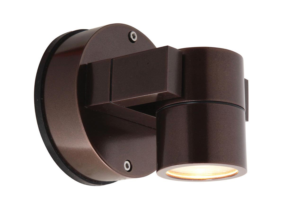 Access Lighting 20351MG-BRZ/CLR KO Wet Location Spotlight,  Bronze Finish with Clear Glass by Access Lighting