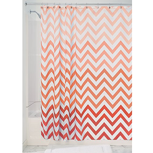 InterDesign Chevron Fabric Curtain 72 Inch