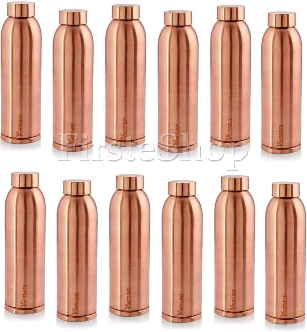 100/% Pure Copper Water Bottle For Yoga Ayurveda Health Benefits 950 ml