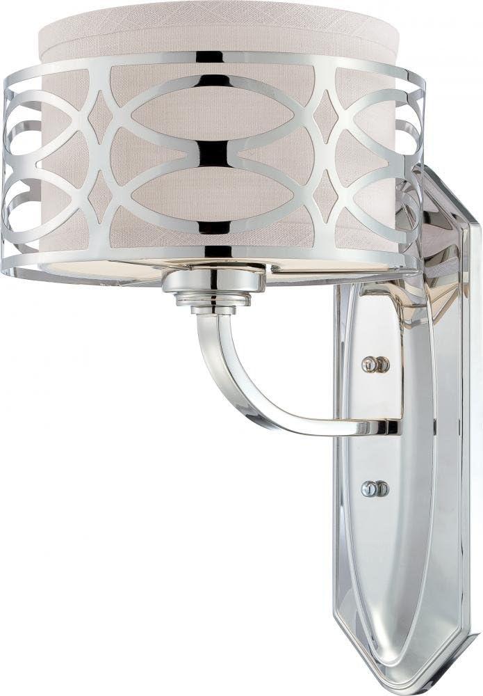 Nuvo Lighting 60 4621 One Light Vanity, Polished Nickel