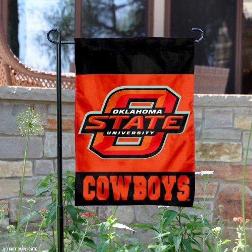 Oklahoma State University Garden Flag and Yard Banner