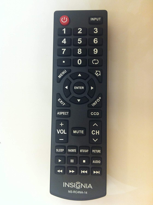 Control Remoto Original Insignia Tv Ns Rc4na 14 Rc4na14 N...