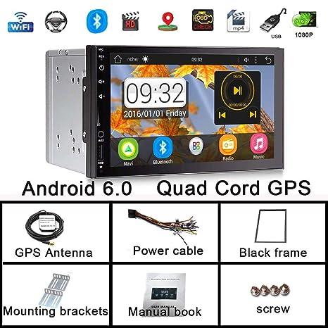 Amazon.com: 7 pulgadas estéreo para coche Android 6.0 Quad ...