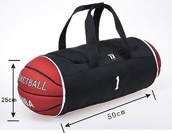 SM Bolsa de deporte con diseño de baloncesto, plegable: Amazon ...