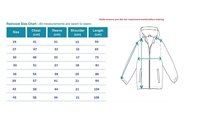 Deblok Kids Premium Raincoat Pink 30 Amazon In Clothing Accessories
