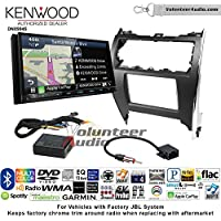 Volunteer Audio Kenwood Excelon DNX994S Double Din Radio Install Kit with GPS Navigation Apple CarPlay Android Auto Fits 2012-2013 Toyota Camry with Amplified System