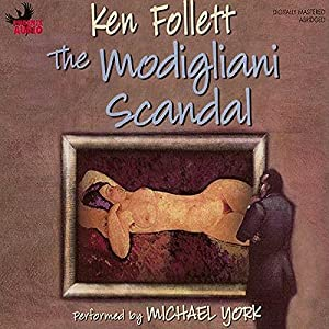 The Modigliani Scandal Audiobook