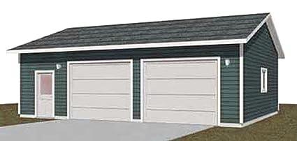Amazon Garage Plans 2 Bay With Shop Truck Size 95211 28 – 2 Bay Garage Plans