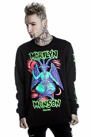 db3738515a8199 Sweatshirt (No Hood) Unisex Marilyn Manson - Marilyn Manson - Killstar - K-