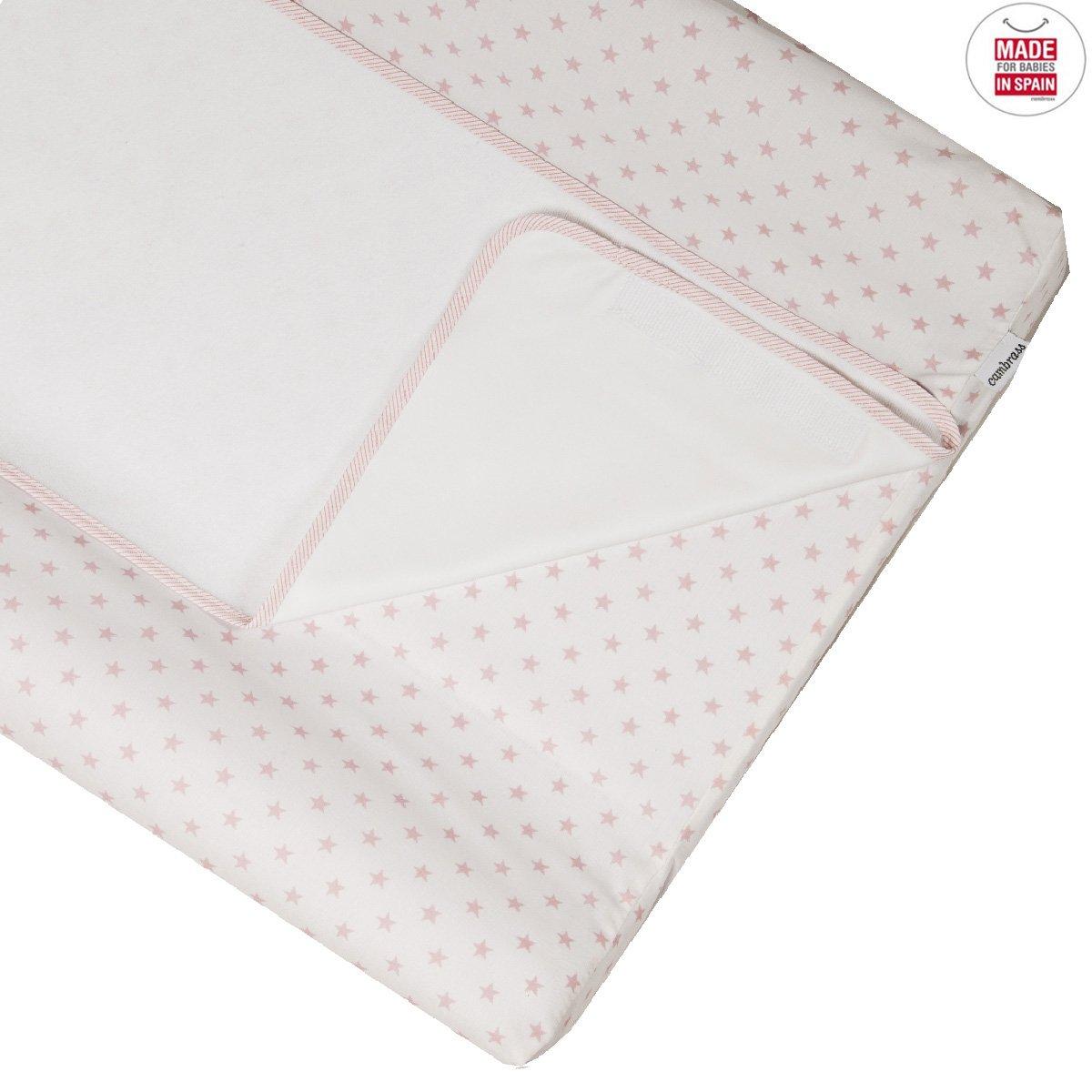 42 x 70 cm Cambrass Star color rosa Cambiador ba/ñera combi