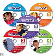 Your Child Can Read! Early Reading System Ages 3 yrs. and up 5 DVD Set