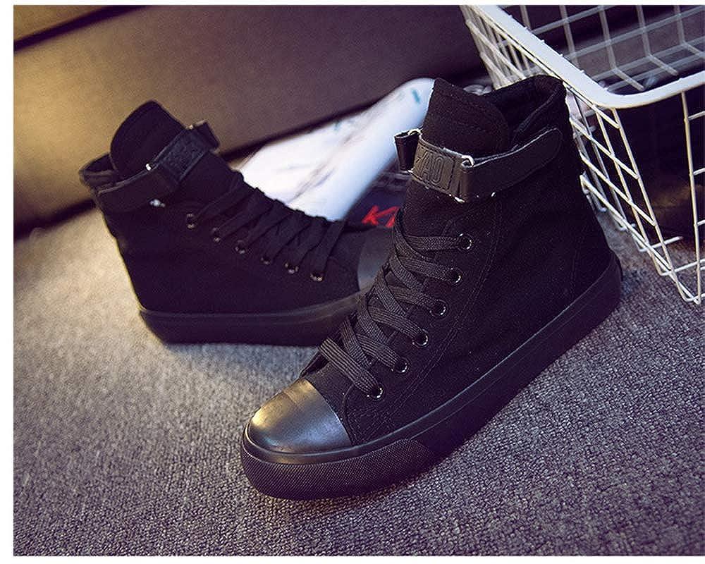 Gogofuture Unisexe BTS Chaussures Hautes pour Etudiant Gar/çon et Fille Chaussures Toile /à Lacets D/écontract/é R/étro Tissu BTS Basse Dessus Plat Gym Sports Baskets l/éger Sneakers Mode Pompes