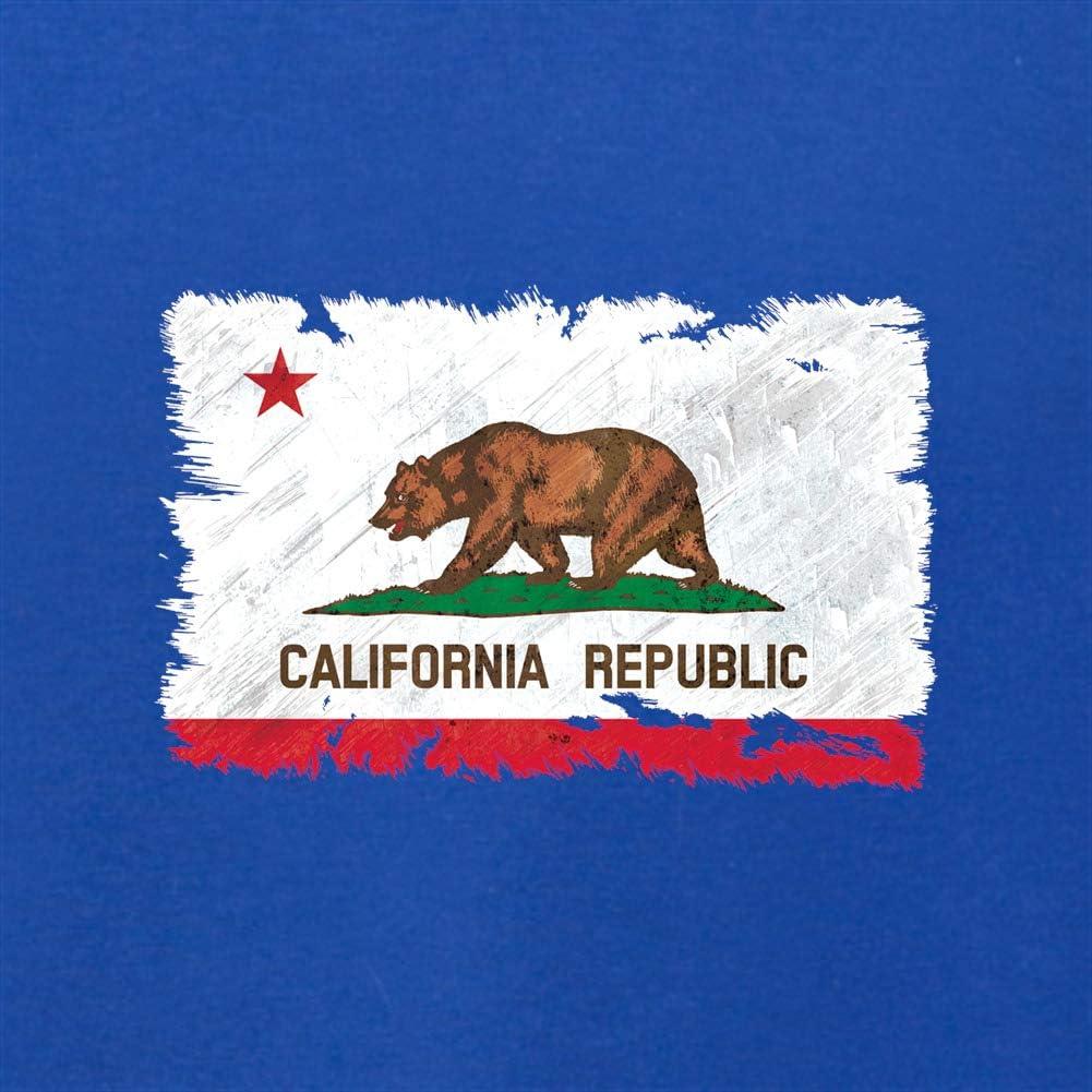 Kids//Childrens Crewneck Jumper Dressdown California Grunge Style Flag