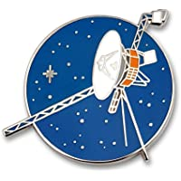 Pinsanity Voyager Space Probe Enamel Lapel Pin
