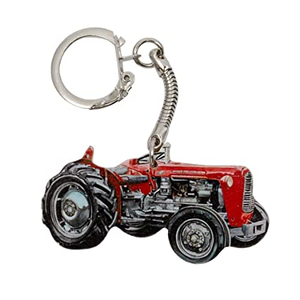 Massey Ferguson 35 Tractor Keyring - WT18K: Amazon.es: Hogar
