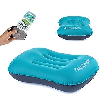 Amazon.com: Naturehike portátil hinchable almohada aeros ...