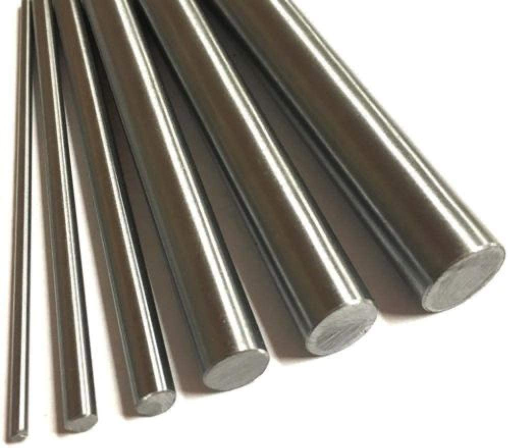 Color : 5mm, Size : 400mm XSRJ 304 Stainless Steel Bar Rod 4mm 5mm 6mm 8mm 7mm 10mm 16mmLinear Shafts M4-M16 Metric Round Bars Ground Stock 400mm length 1PC