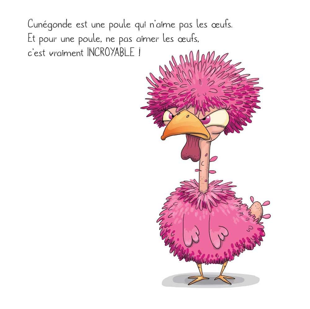Amazon Fr La Poule Qui N Aimait Pas Les Oeufs Séverine De La