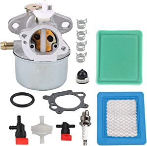 Harbot 799869 499059 Carburetor for 792253 497586 122L02 122M02 122T02 124L02 124T02 126L02 126M02 126T02 126T05 126T07 121K02 122K02 Engines with Tune Up Kit