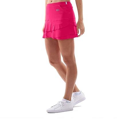 SPORTKIND niñas y mujeres tenis/Hockey sobre césped/Golf/Falda tulipán con bolsillos