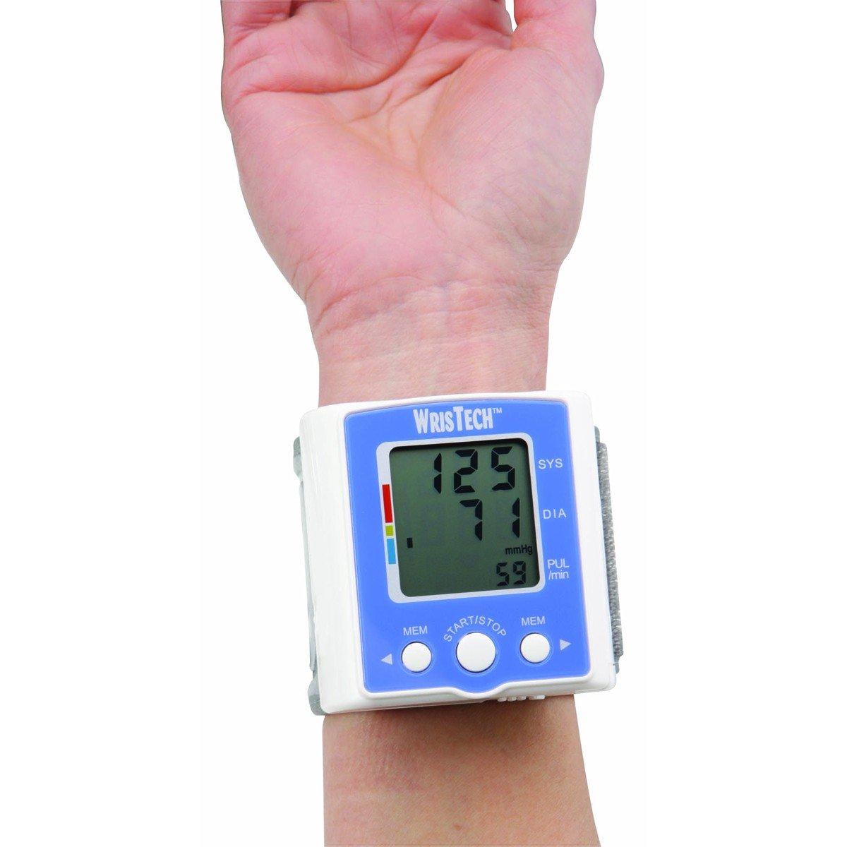 amazon com well at walgreens automatic wrist blood pressure