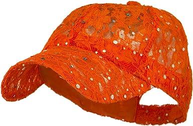 Glitter Caps Orange