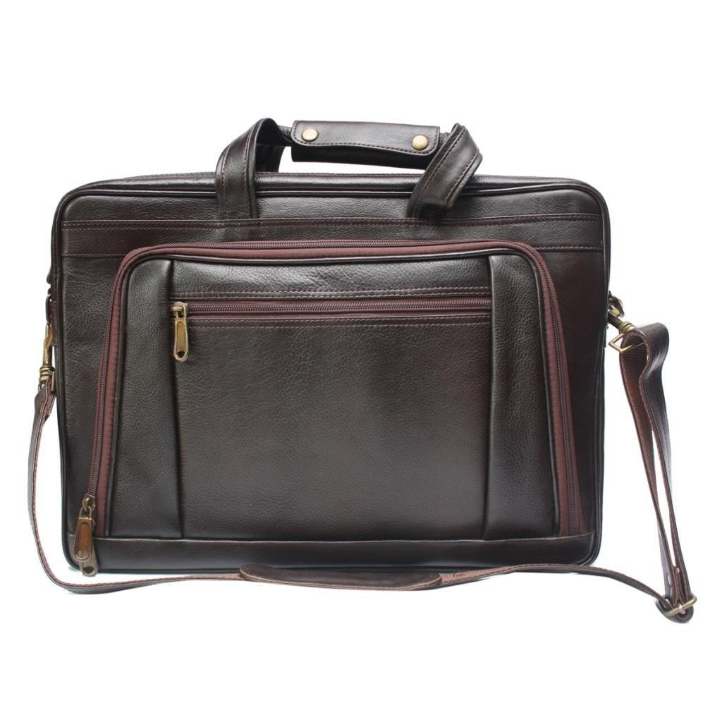 Chanter Designer Genuine Leather Brown 15