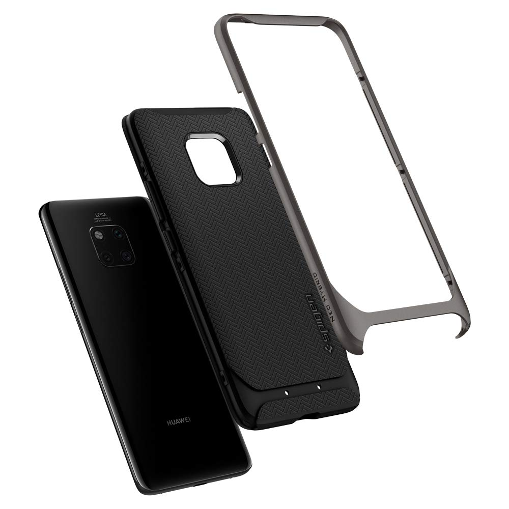 Spigen Neo Hybrid Designed for Huawei Mate 20 Pro Case (2018) - Gunmetal