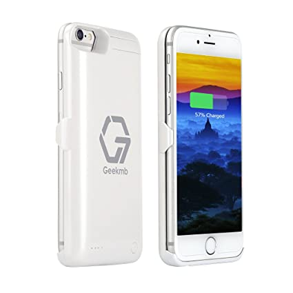 iphone 8 charger case white