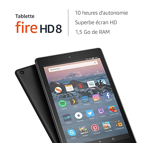 Amazon Fire HD 8 2018  : la championne du petit prix