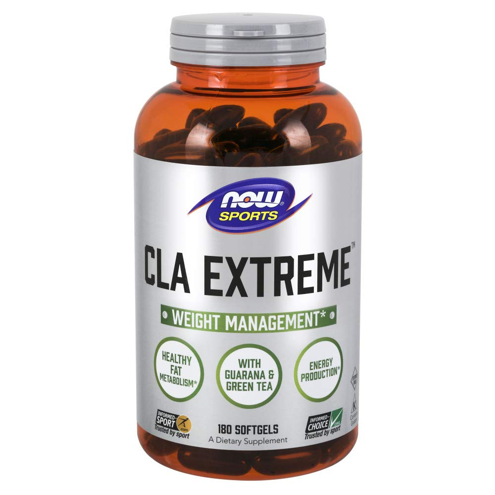 NOW® Sports CLA Extreme, 180 Softgels by NOW