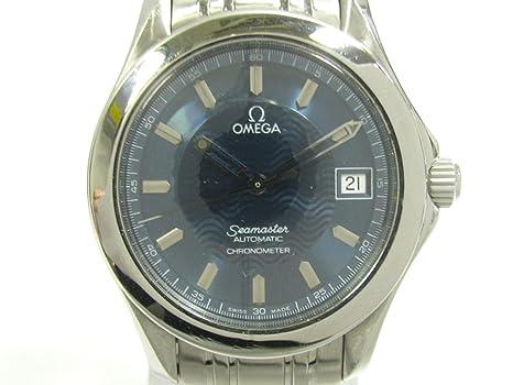 16c41c7b70ed [オメガ] OMEGA シーマスター 腕時計 ウォッチ ブルーXシルバー ステンレススチール(SS) 2501.81