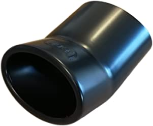 Exhaust Trim Cartuner/® 95/x 65/mm Stainless Steel Matt Black /• Exclusive Line