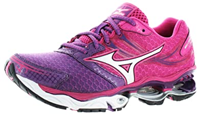 Mizuno Wave Creation 14 Womens Running Shoes Sneakers Purple Size 6 3a875f3d685ab
