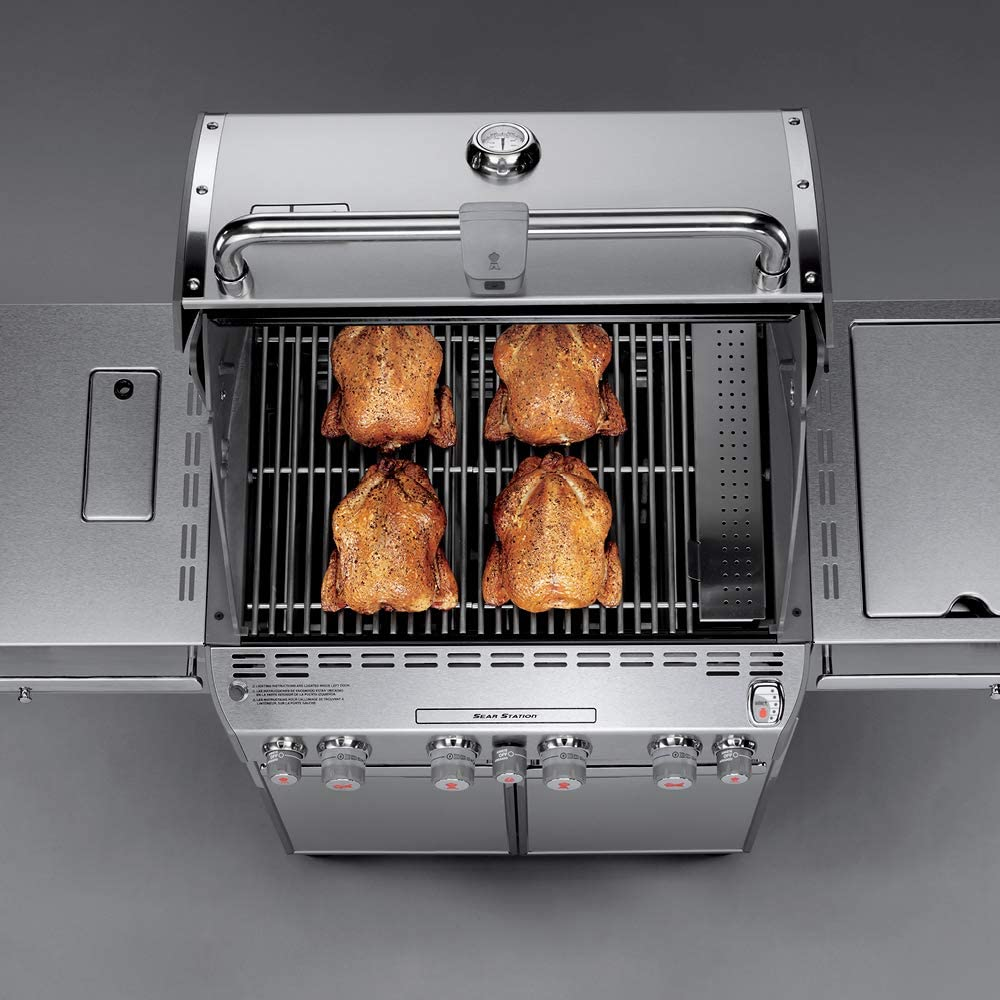 Weber 7170001 Summit S-470 4-Burner Liquid Propane Grill