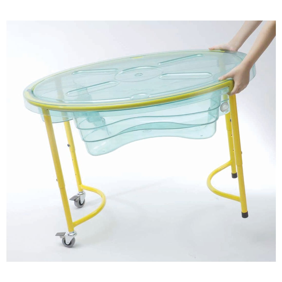 WePlay KT2001-00C - Sand-/Wassertisch, transparent