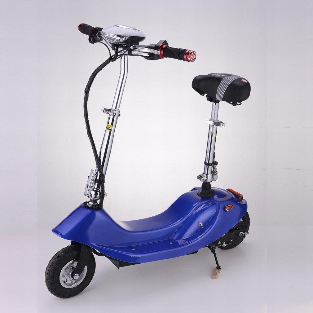 HD Señora Plegable Mini Coche Eléctrico de Litio Scooter Eléctrico Bicicleta Eléctrica Pequeña Batería Coche Scooter,Color,8 pulgadas): Amazon.es: Deportes ...
