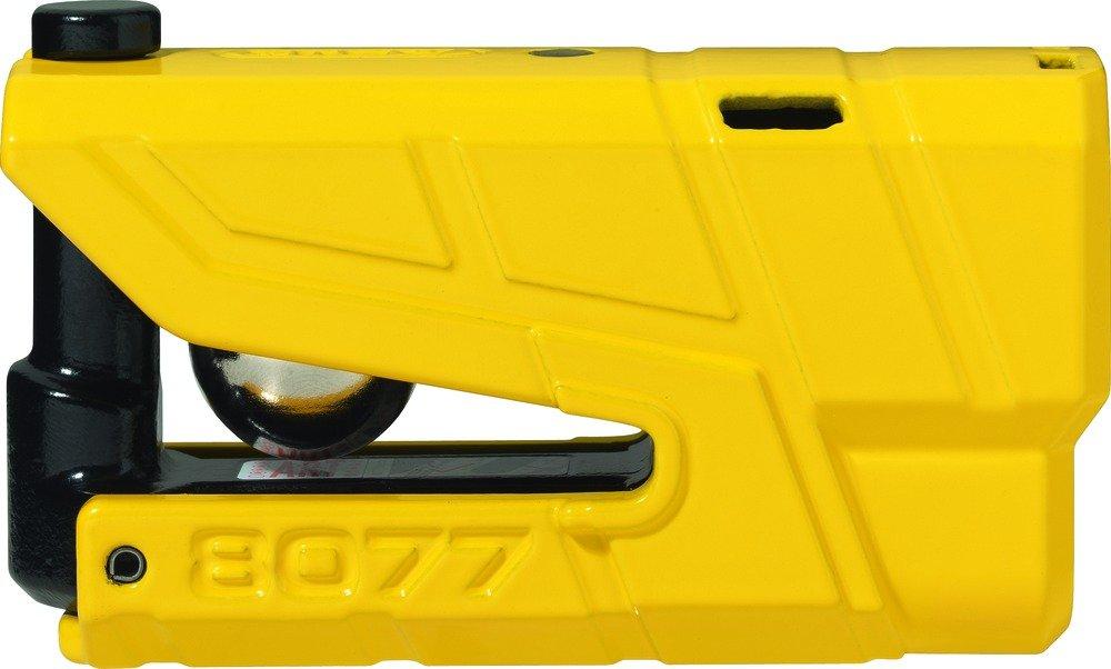 Abus 19004 Blocca Disco Allarme moto Granit Detector X-PLUS 8077 SRA, giallo ABUS August Bremicker Soehne KG 19002