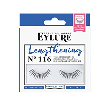 890575a70a2 Amazon.com : Eylure Naturalites Lengthening Lashes, 116, 18.14 Gram : Fake  Eyelashes And Adhesives : Beauty