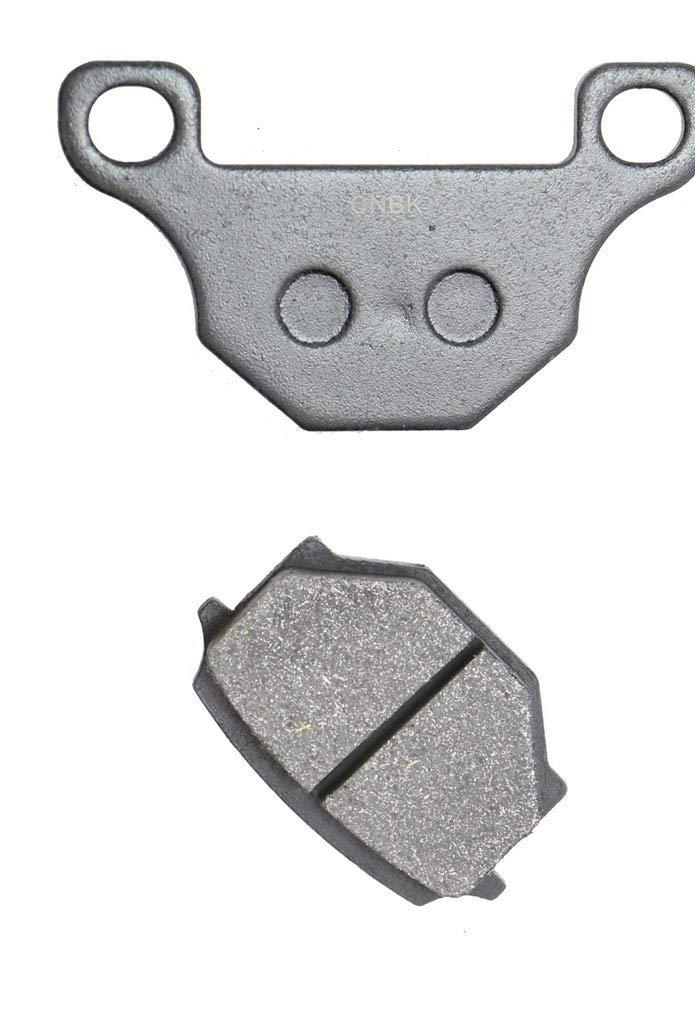 Trasero Juego de Pastillas de Freno Semi-Metallic for Street Bike MRT50 MRT 50 Pro Radial Double Piston Caliper 09 10 11 12 13 14 15 2009 2010 2011 2012 2013 2014 2015 1 Pair 2 Pads
